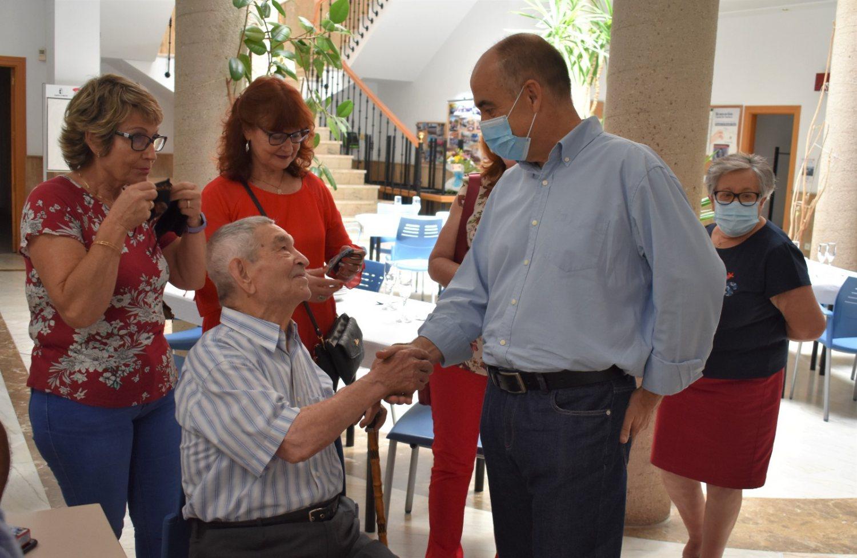100 cumpleaños de Miguel Losa