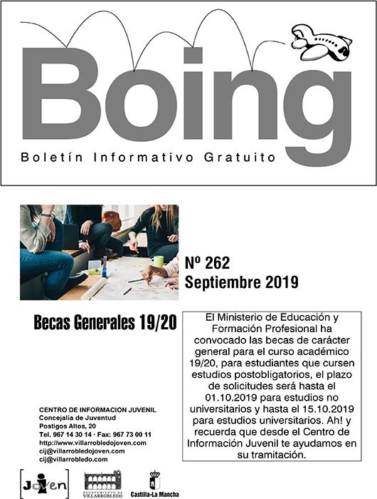 Portada del Boing 262