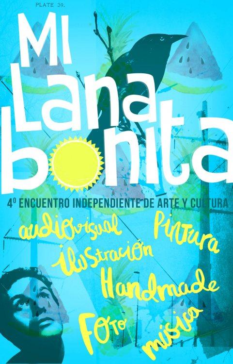 Cartel Mi Lana Bonita IV