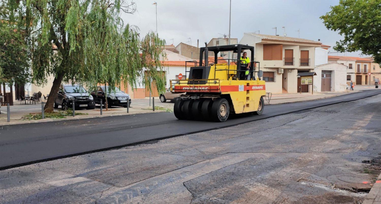 Asfaltado de calles POS 2021