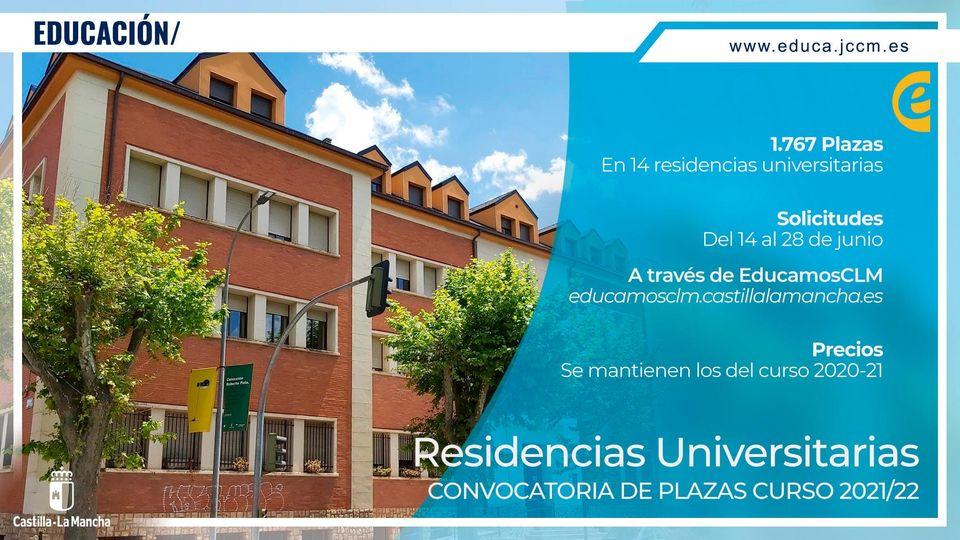 Residencias Universitarias de C-LM 21/22