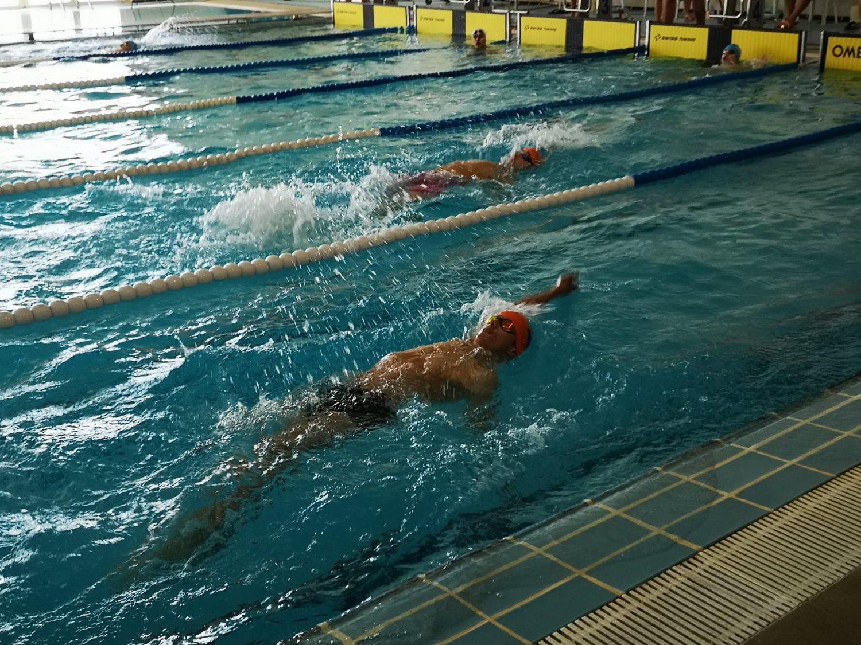 Circuito regional de Natación en la piscina cubierta