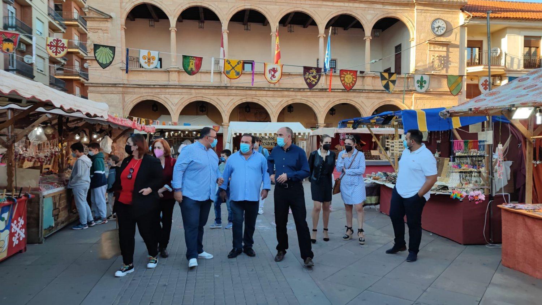 inauguración Mercado Medieval Lancelot