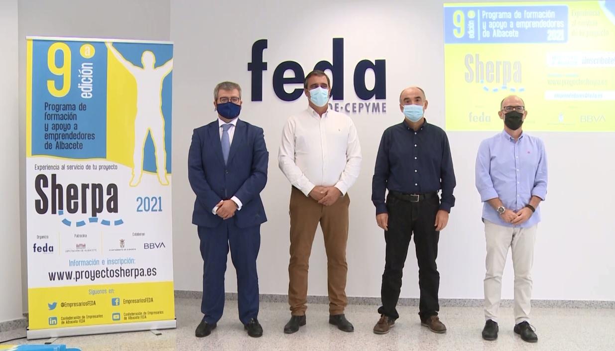 Novena edición programa Sherpa de FEDA