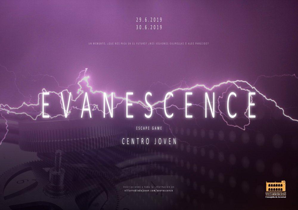 Cartel de Evanescence