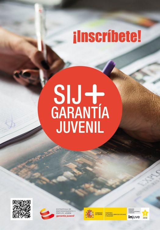 Flyer Garantía Juvenil
