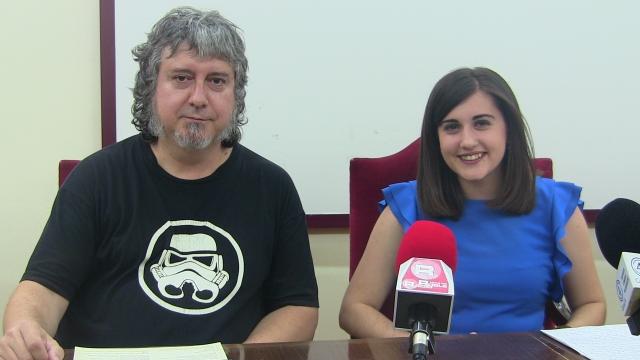 Imagen de Cristina Torres y Noé González en rueda de prensa
