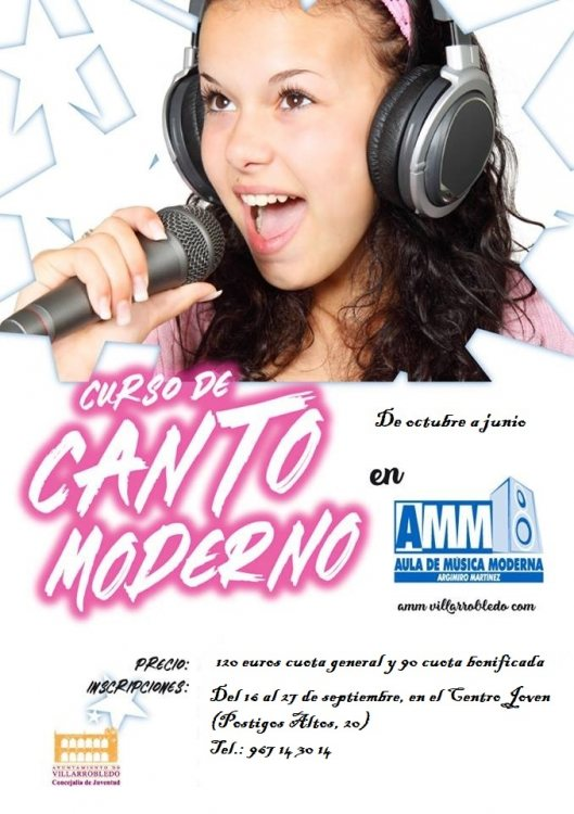 Curso de Canto Moderno 19/20