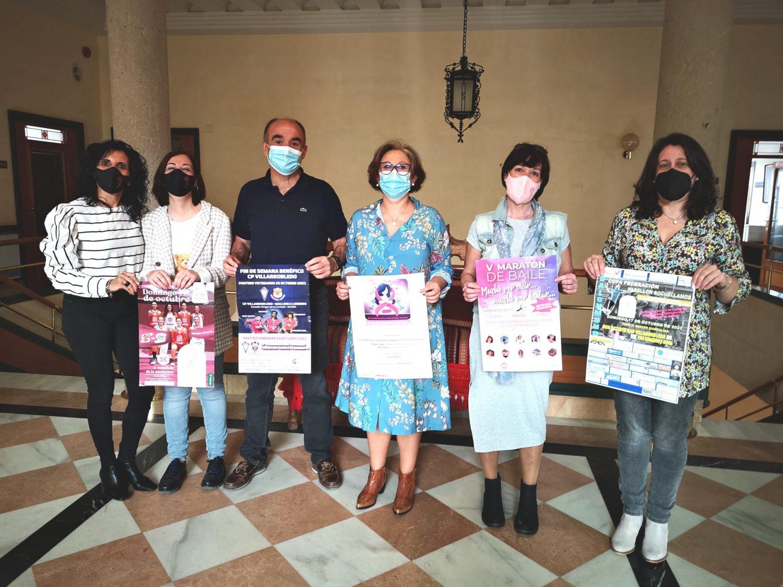 Presentación actividades Día Mundial Lucha contra el Cáncer de Mama