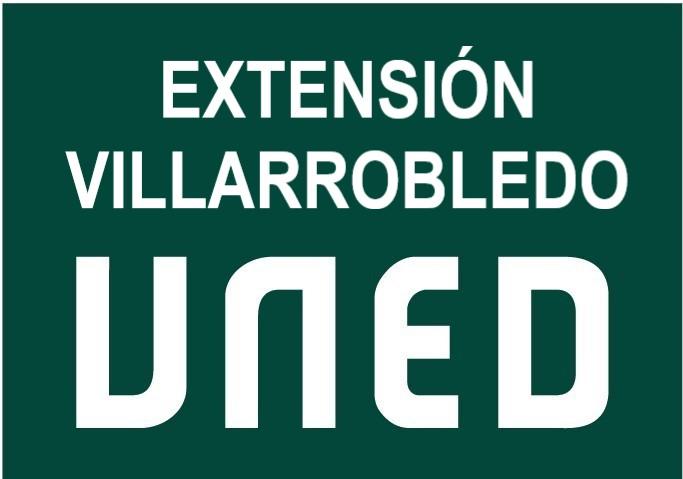 Logo UNED Villarrobledo.