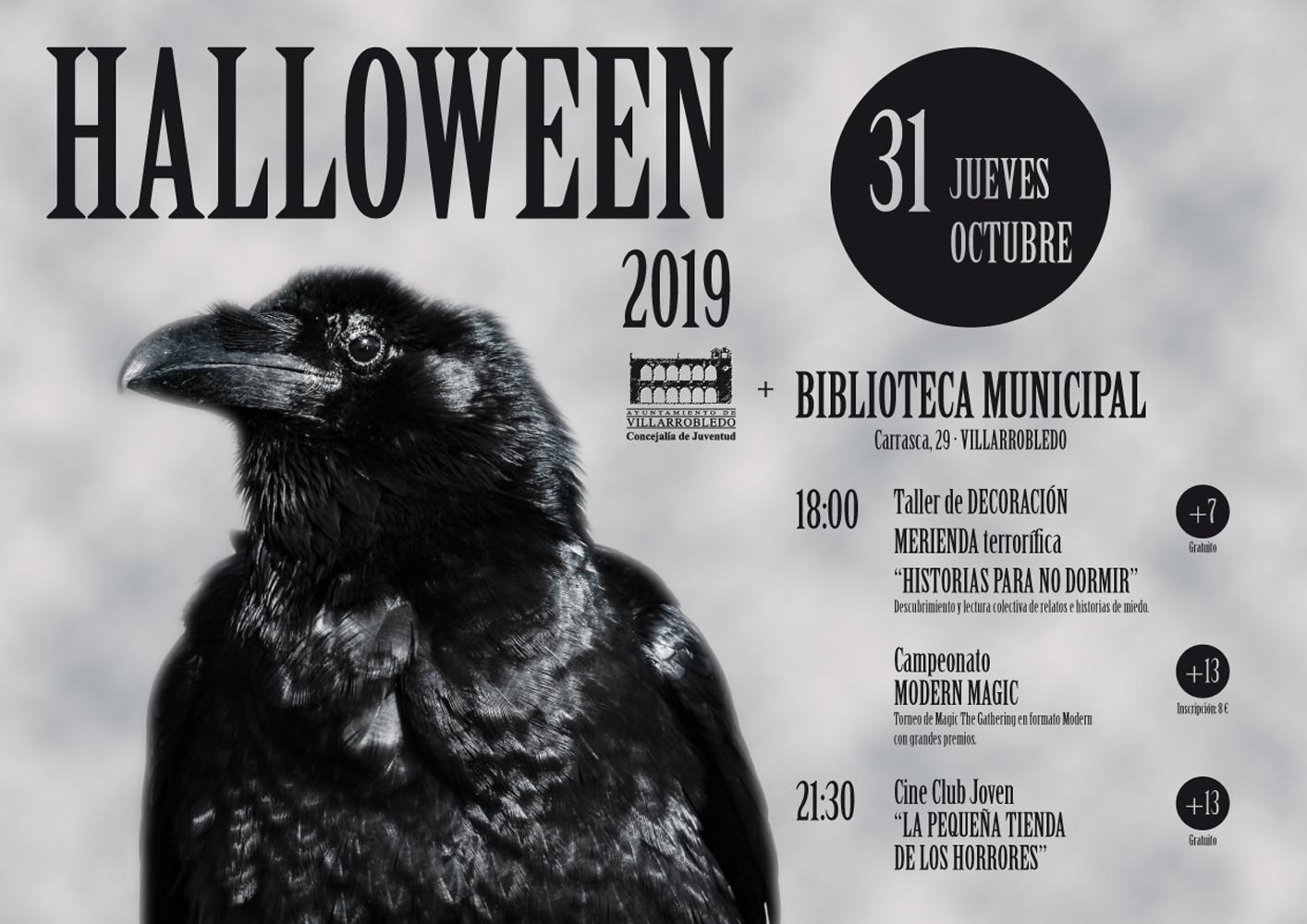 Cartel de Halloween 2019
