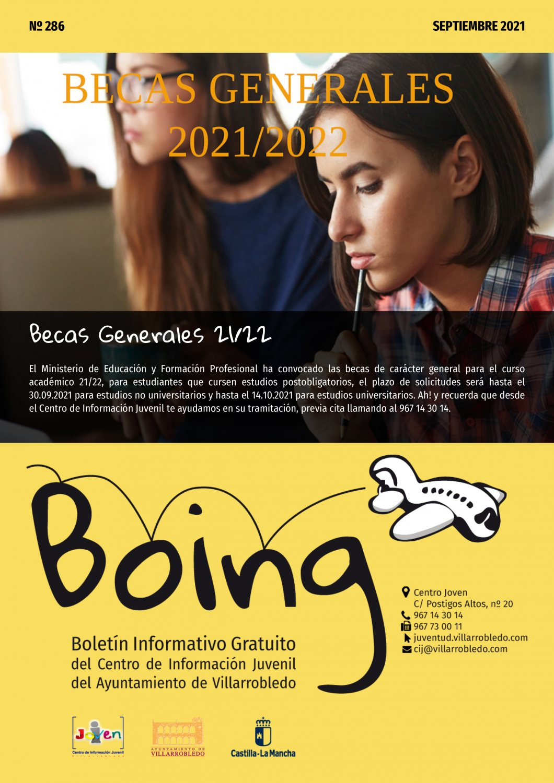Portada del Boing 2086