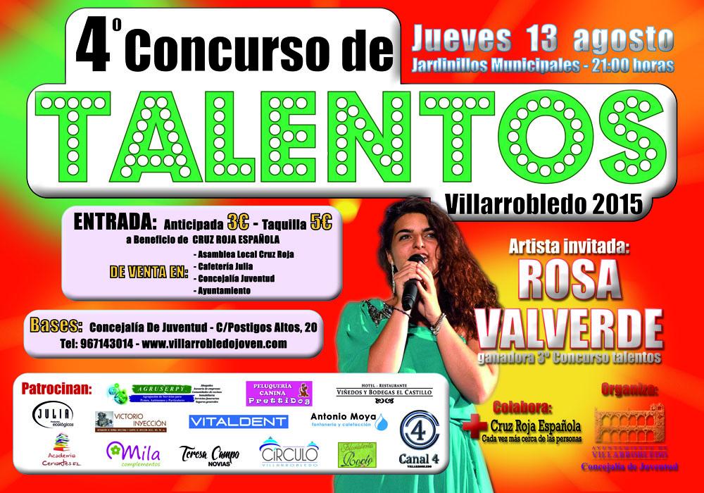 Cartel Talentos 2015